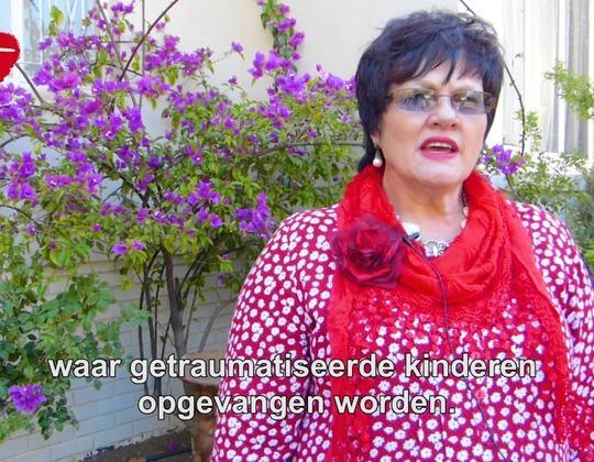 Rosa Nel bedankt voor steun voor Zuid-Afrika