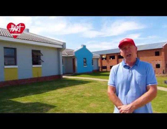 Johan bedankt voor de vele steun van donateurs voor Zuid-Afrika