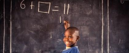Onderwijs voor kind Oeganda