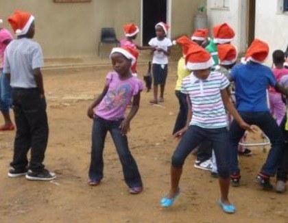 Kerst vieren in Lesotho