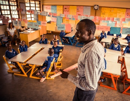 Goed onderwijs in Oeganda